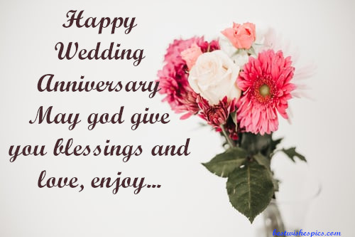Happy Marriage Anniversary.