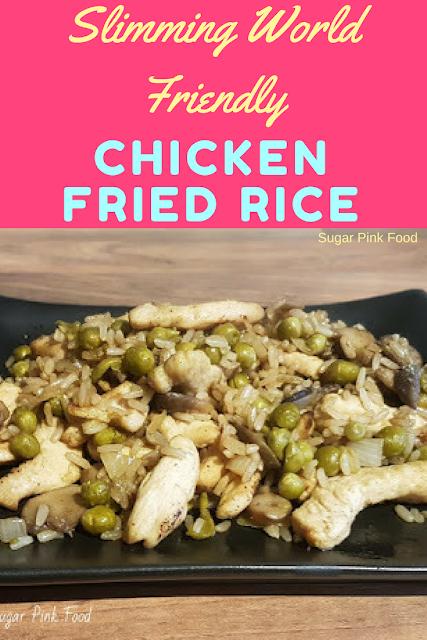 Chicken Fried Rice Recipe slimming world