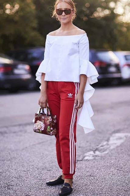 Стильный образ модные брюки 5-4