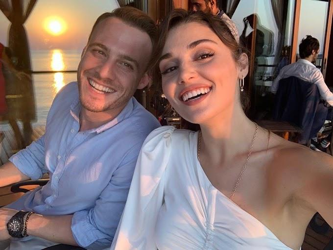 Hande Erçel and Kerem Bürsin are in the Maldives!