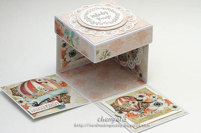 pamiątkowe pudełko z okazji ślubu