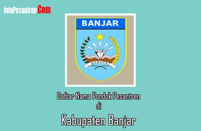 Pesantren di Kabupaten Banjar