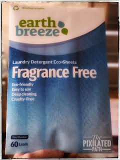Earth Breeze Fragrance Free Laundry Detergent Eco-Sheets