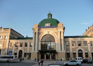 Ивано-Франковск. Железнодорожный вокзал. 1866 г.