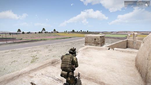 Arma3用JalalabadマップMODの開発中画像