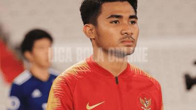 pemain liga bola k league 2 asnawi mangkualam asal indonesia terpilih sebagai pemain terbaik april 2021