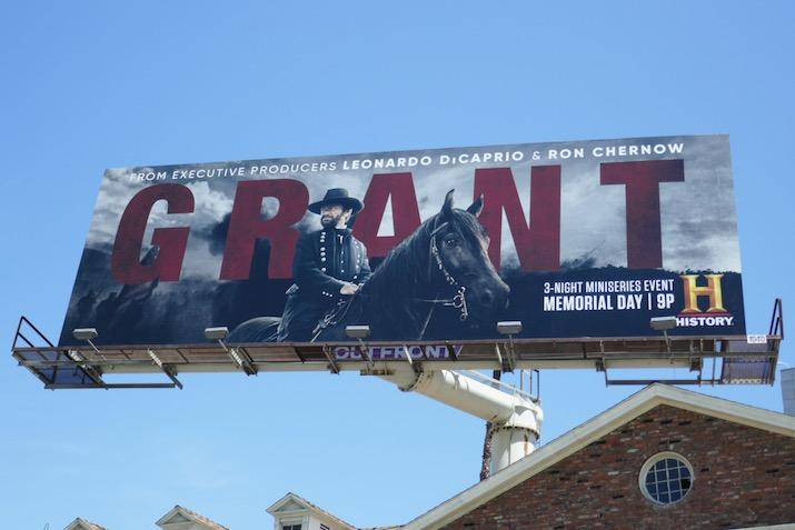 Grant History miniseries billboard