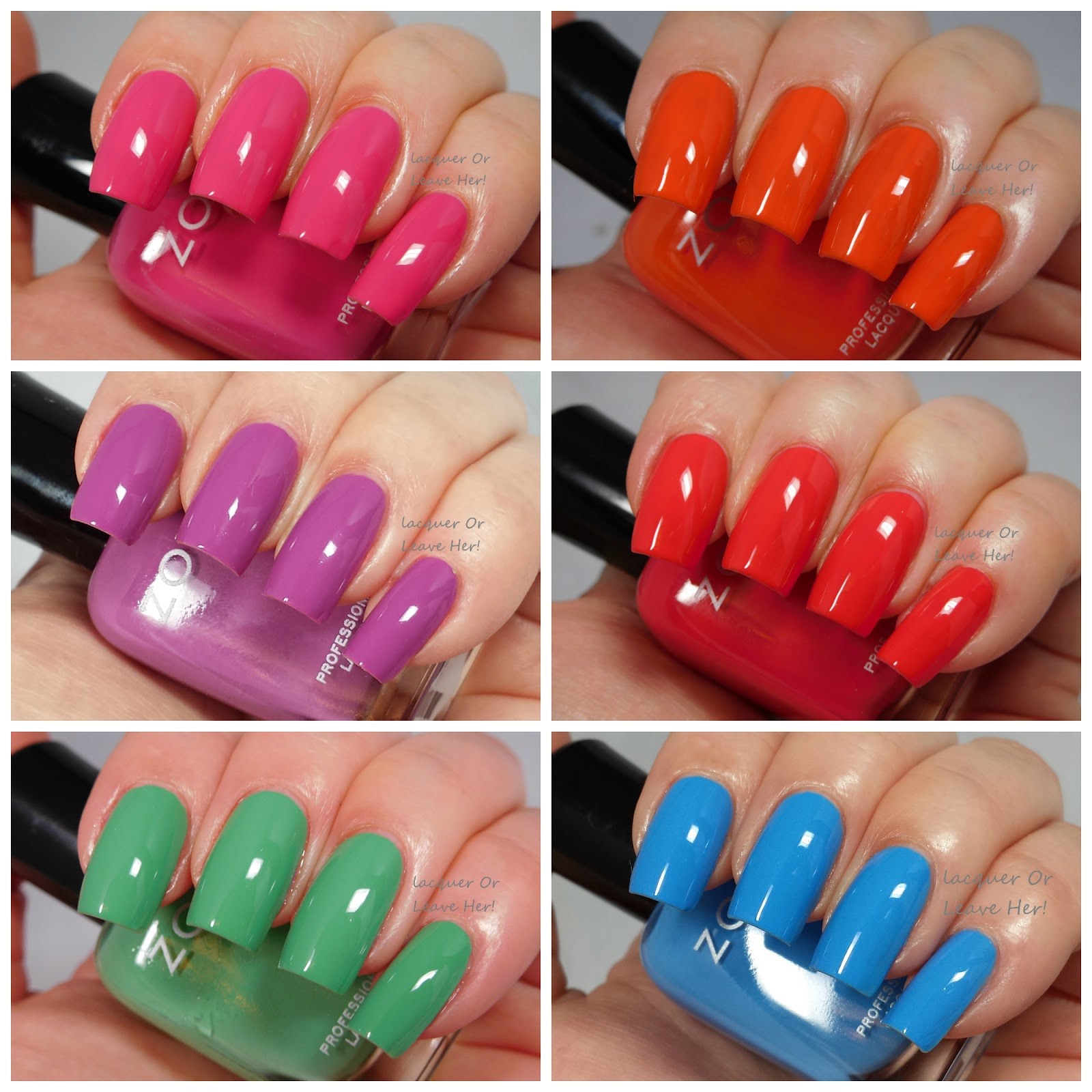 Lacquer or Leave Her!: Review: Zoya Sunsets Summer 2016 collection!