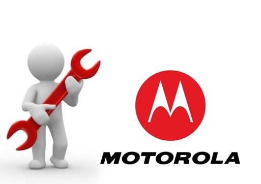 logo assistência técnica da Motorola