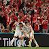 यूरो 2020: डेनमार्क ने रूस को 4-1 से हराया