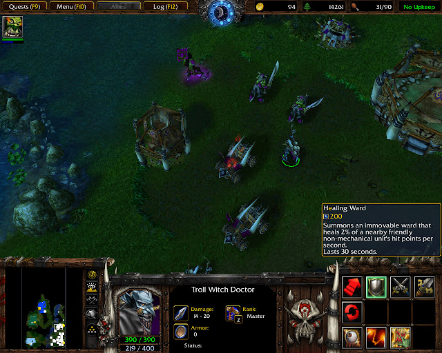 The Hunter of Shadows Mission 24 | Troll Witch Doctor Screenshot | Warcraft 3: Reign of Chaos