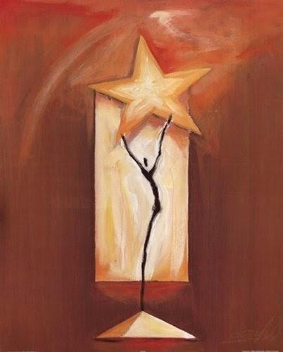 Star Dance Poster Print by Alfred Gocjkel | artpreneure-20