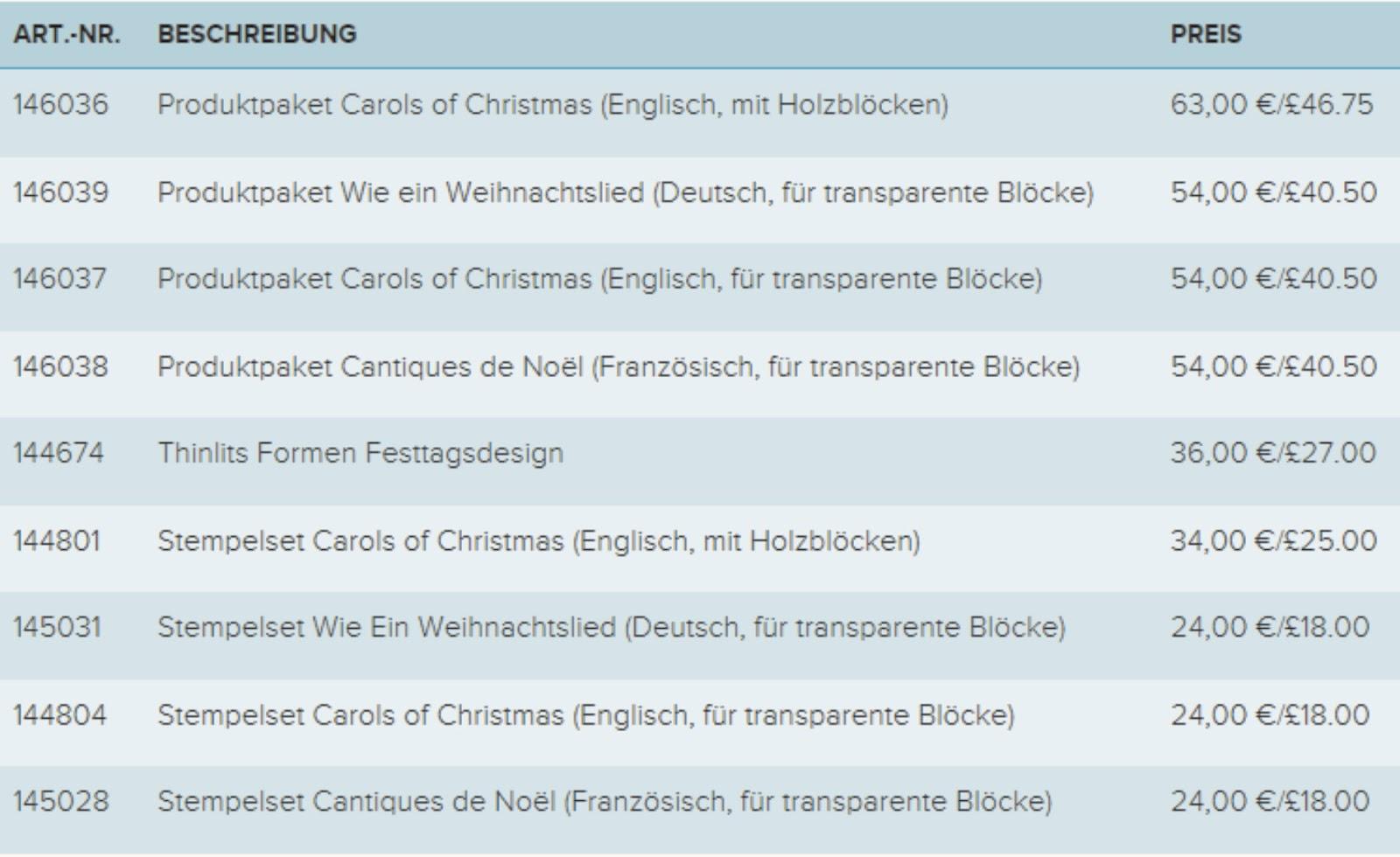 Elfenkunst: Grosser Vorverkauf Weihnachtsset \