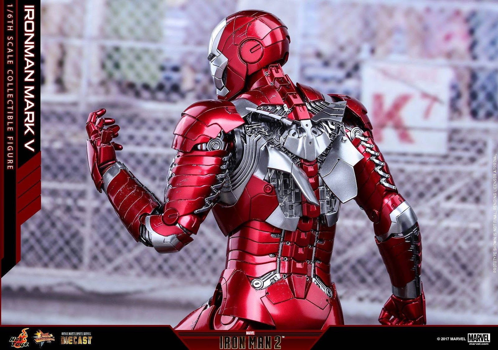 onesixthscalepictures: Hot Toys Iron Man 2 IRON MAN MARK V ...