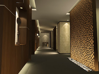 Corridors through working spaces for Floor function definition