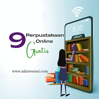 9 Perpustakaan Online Tempat Download Ebook Gratis