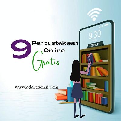 9 perpustakaan online tempat download ebook gratis