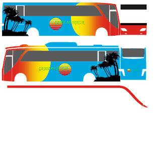 Livery Bussid Old Setra 3 Varian