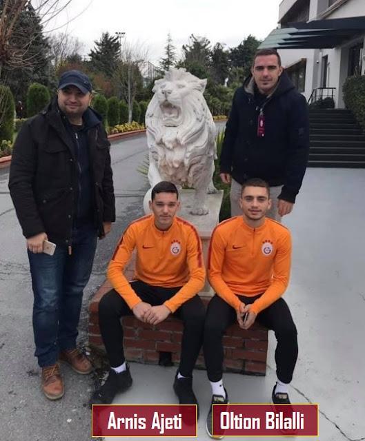 2 genç oyuncu 2019 yılının Ocak ayında Florya'daydı..