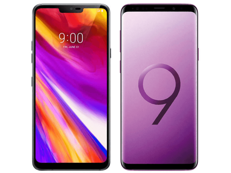 LG G7+ ThinQ vs Samsung Galaxy S9+ Specs Comparison