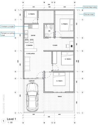Buatlah Desain Denah Sebelum Membangun Rumah