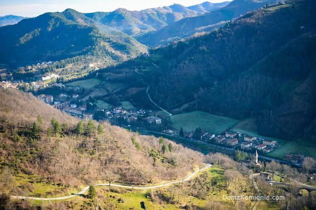 Marradi - vista da Castellone