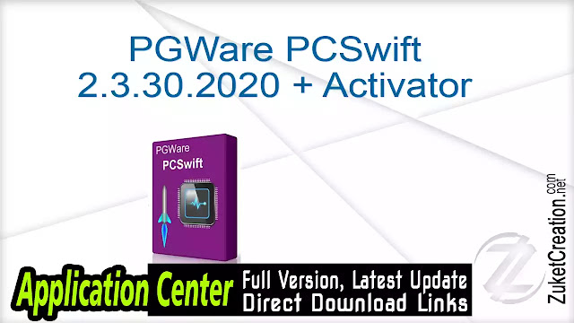 PGWare PCSwift 2.3.30.2020 + Activator