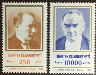 Turkey 1992 Ataturk