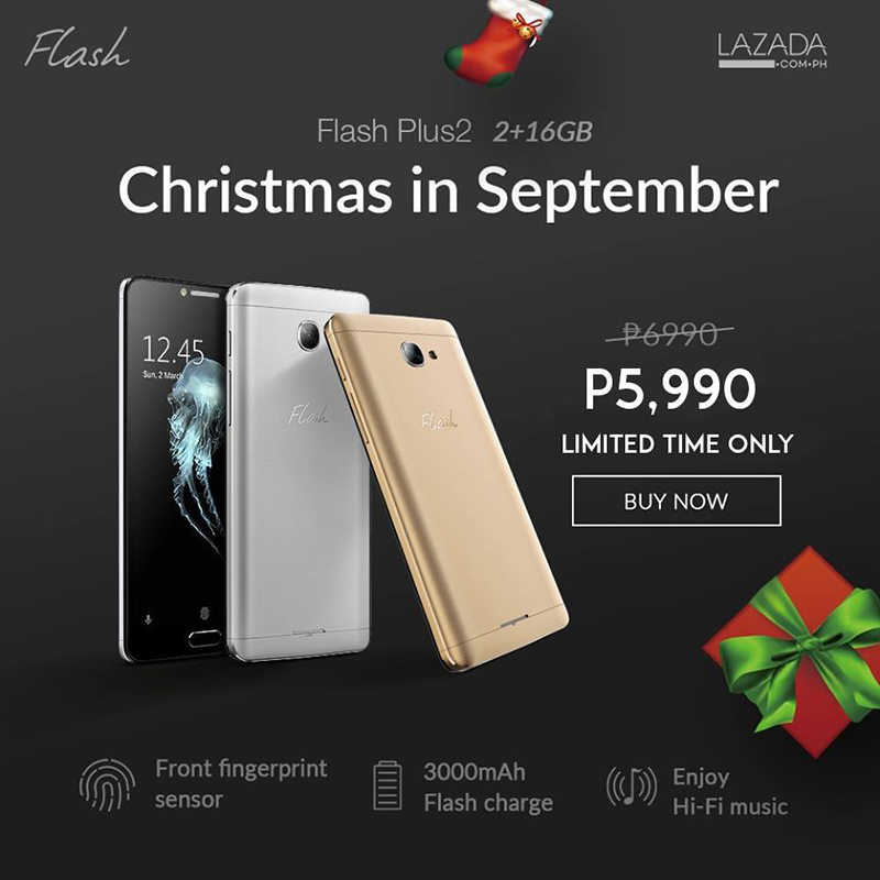 Flash Plus 2 With 2 GB RAM Is Now Priced At Just 5990 Pesos!