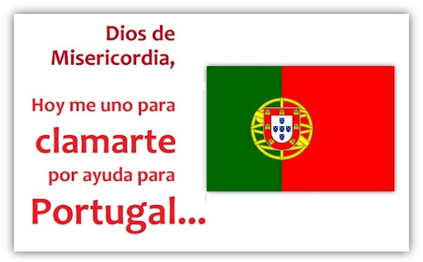 ORA por PORTUGAL - #PrayForPortugal