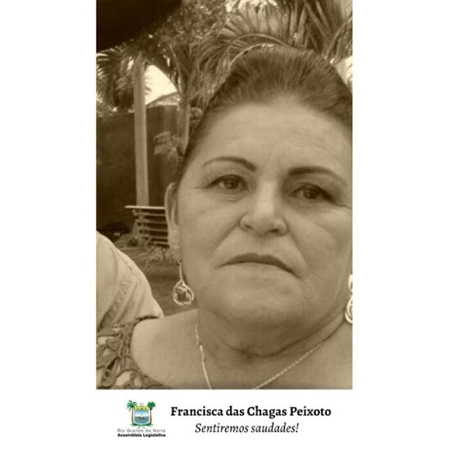 ASSEMBLEIA EMITE NOTA DE PESAR PELA MORTE DE SERVIDORA