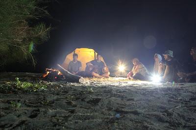 Camping di Pulau