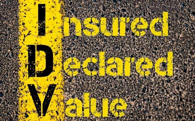 idv insured declared value car insurance vehicle insure