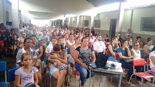 Campanha Contra Drogas e Abuso sexual reúne centenas de pais em Baraúna