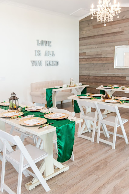 The Cottage Wedding Dining Tables by Micah Carling Photography