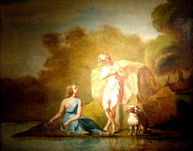 Жан Франсуа Милле - Пастухи Аркадии. 1843