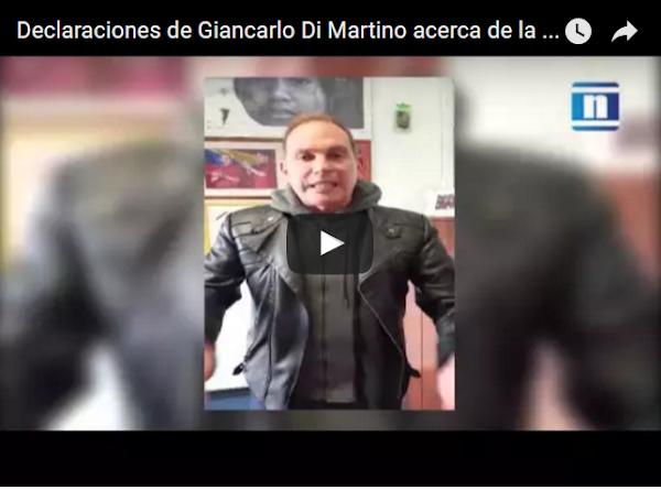Alcalde Giancarlo Di Martino salpicado por escándalo de la FIFA