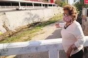 Supervisa Adela Román limpieza y desazolve en el canal de La Garita. Se proyecta un avance del 90 por ciento en los trabajos previos a la temporada de lluvias que inicia oficialmente el 15 de mayo