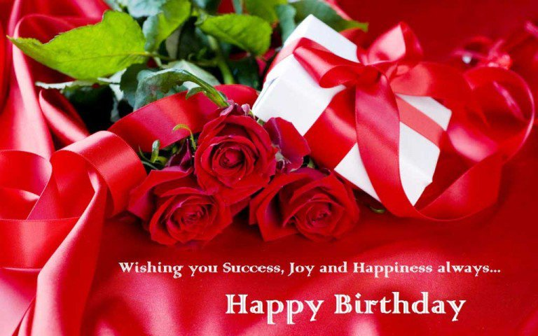 wish you success joy and happiness on your birthday