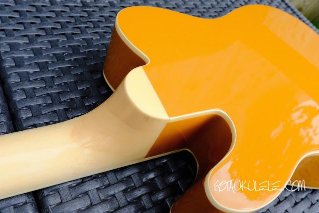 Fender Fullerton Tele Ukulele back