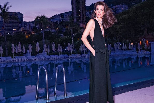 New photos of Charlotte Casiraghi to be used for Chanel's 2021 Spring Summer advertising campaign were released