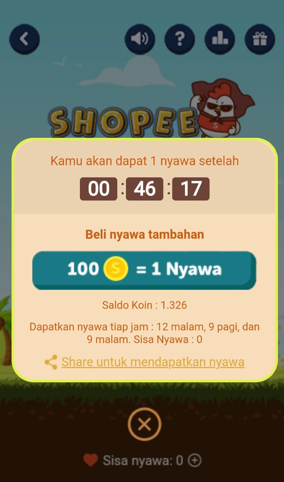 Shopee flappy Shopee Games