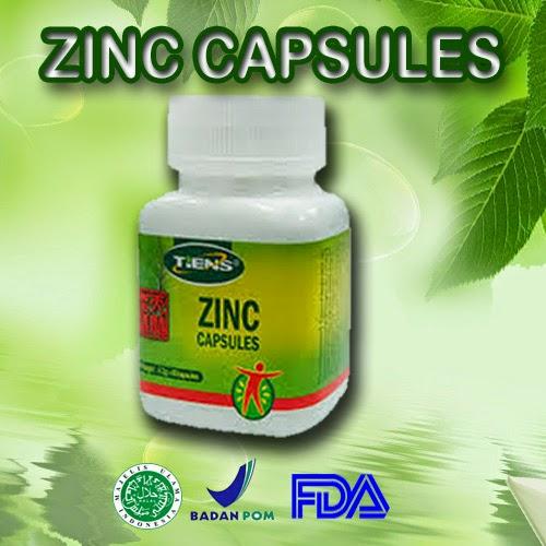tiens zinc price