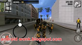 MOD GTA Robot Transformer