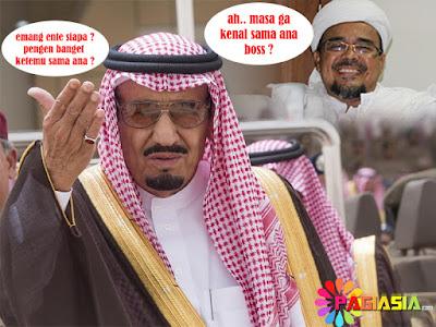 Arab Saudi Menolak Kabar Yang Diberitakan Media Bahwa Raja Ingin Menemui Rizieq