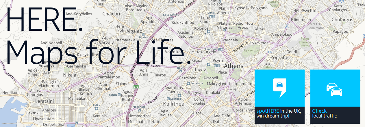 HEREMaps: New HERE maps update for Android and Windows Phone