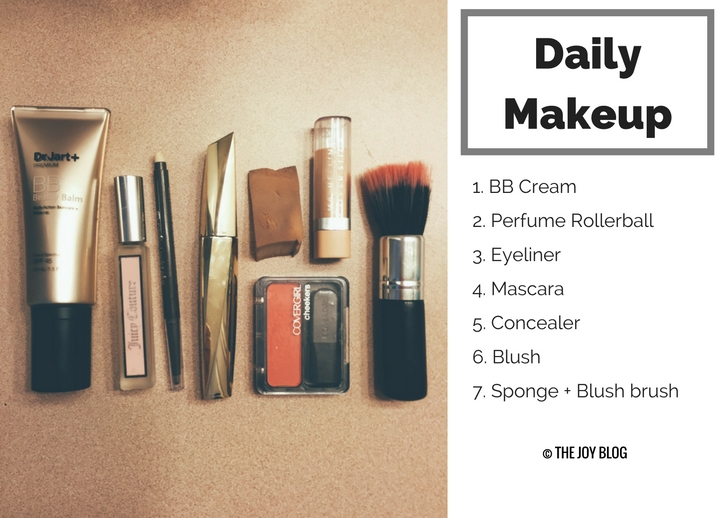 My Daily Makeup Repertoire // WWW.THEJOYBLOG.NET
