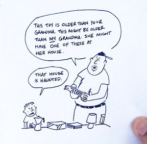 Sketchbook: Overheard at the Flea Market