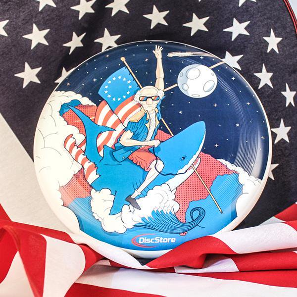 george washington frisbee GBA