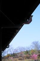 東大寺 しころ建ての房 銅雨樋アンコー スカイライン